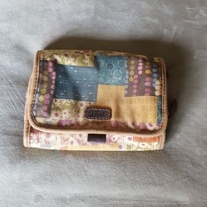Fossil makeup/travel bag